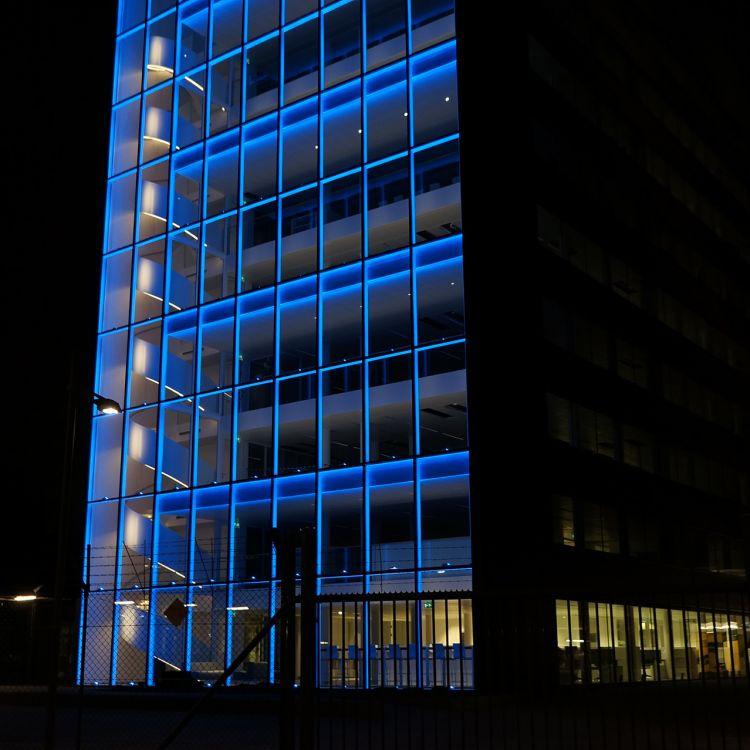 Meyer Lighting Us Polizeizentrale Rotterdam
